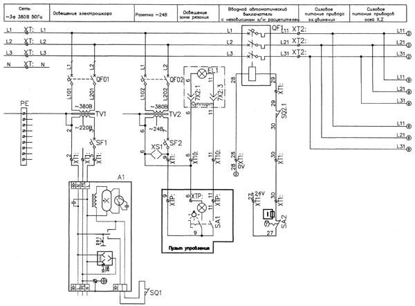1516Ф3 Электросхема