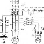 1624М Электросхема токарного станка