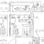 675ПФ1 Электросхема универсального фрезерного станка