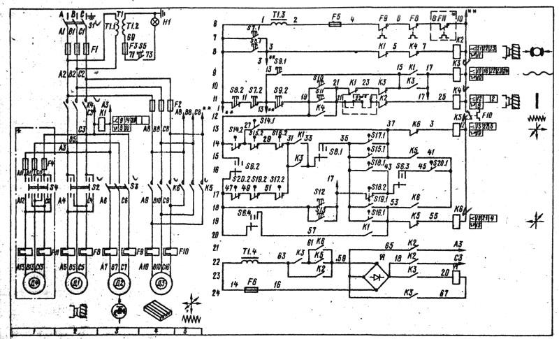 6P12 Электросхема