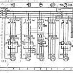 Фрезерный станок 6т82ш-1 электрическая схема.