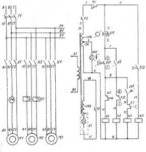 ФТ11-М Электосхема станка