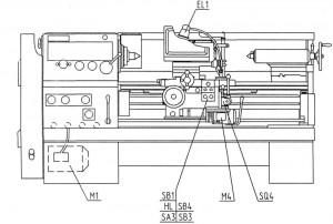 ГС526У станок токарно-винторезный повышенной точности