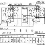 ИТ-1М, ИТ-1ГМ Электросхема токарного станка