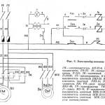 ТВ-320 Электросхема станка
