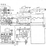 Кинематическая схема 1Е61М на токарно-винторезный станок