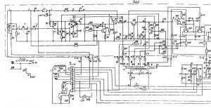 3У10А Электросхема на станок универсальный круглошлифовальный
