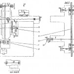 Кинематическая схема 3А64Д Универсально-заточной станок