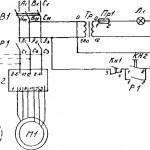 Электросхема 3Б633 на точильно-шлифовальный станок 3Б633
