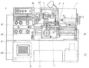 16Е16КП Паспорт на токарно-винторезный станок 16Е16КП