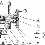 Задняя бабка токарного станка 16Б05А