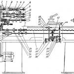 Кинематическая схема токарно-винторезного станка 1615
