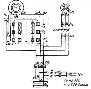2118 Электросхема станка