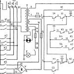 Электросхема 250ИТВ станок повышенной точности