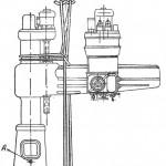 Радиально-сверлильный станок модели 2Н55