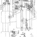 Кинематическая схема Радиально-сверлильного станка 2Н55