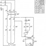 Электросхема станка 6Е463