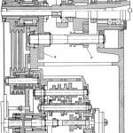 Привод шпинделя фрезерного станка 6Р81