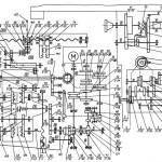 Кинематическая схема Консольно-фрезерных станков 6Р11, 6Р81Ш, 6Р81