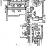Коробка подач консольно-фрезерных станков 6Р11, 6Р81Ш, 6Р81