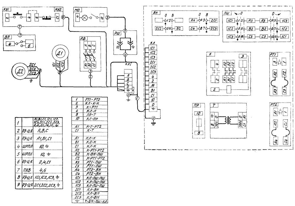 675П Электросхема