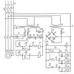 Электросхема поперчно-строгального станка мод. 7305