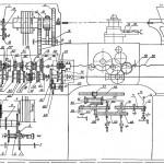 95ТВ Кинематическая схема на универсальный токарно-винторезный станок